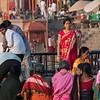 Boats load for ghat views at Varanasi