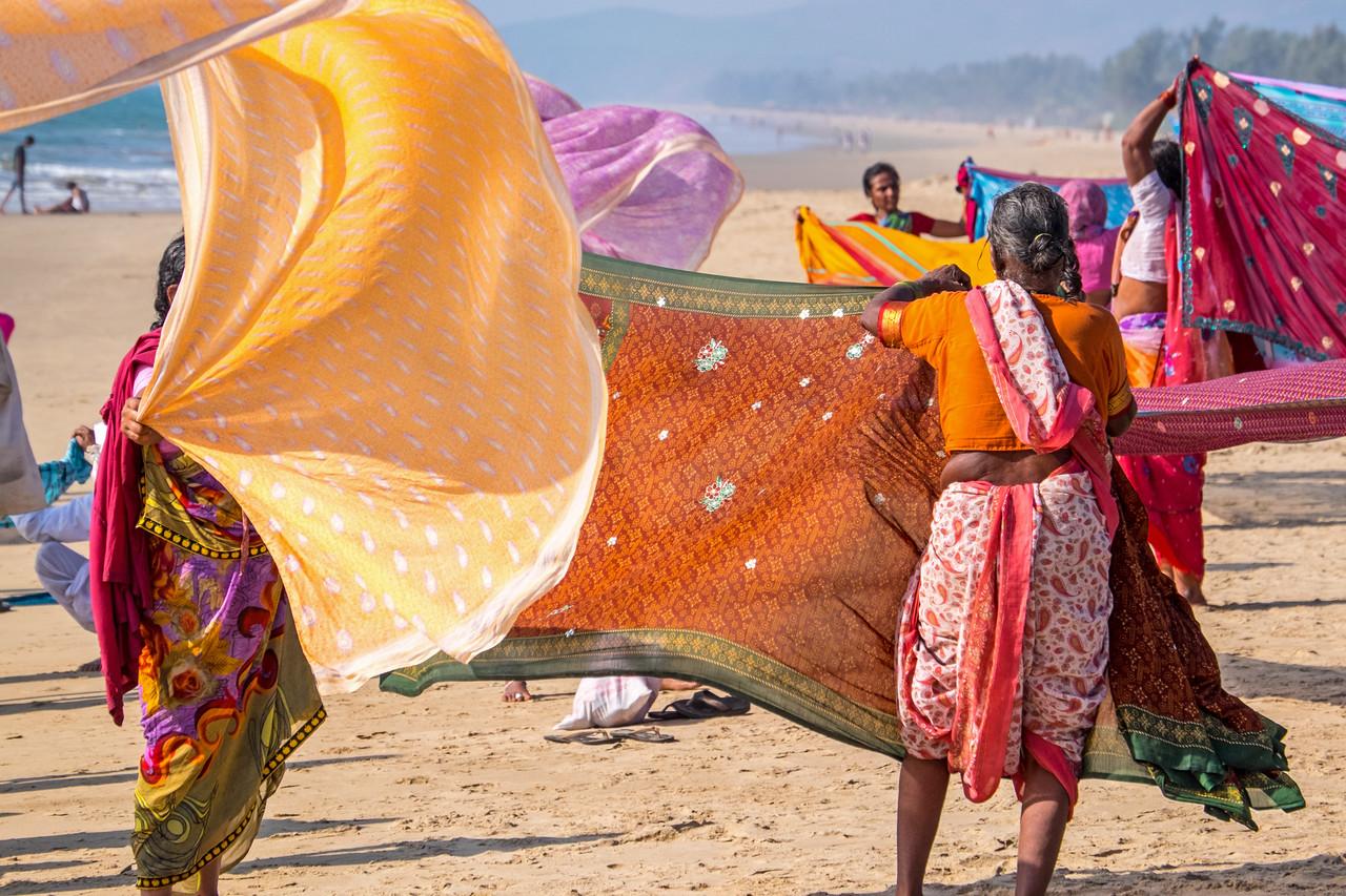 Sari drying, Gokarna