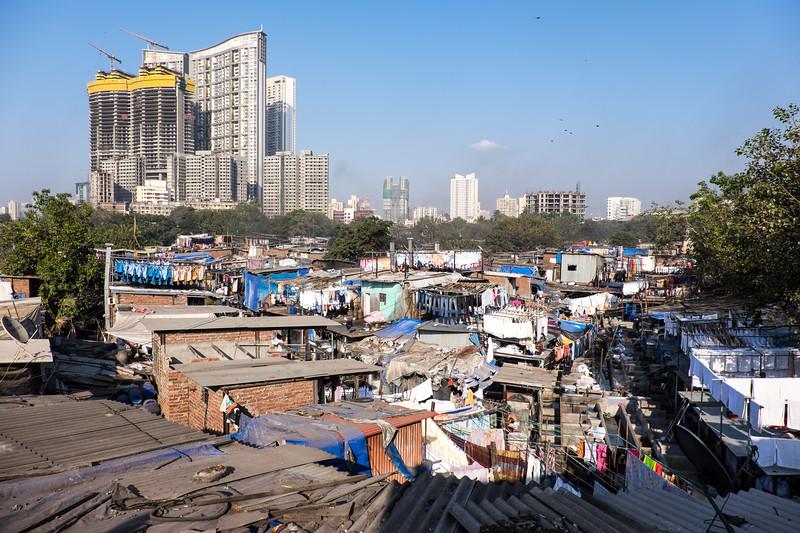 The wealth gap, Mumbai