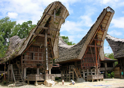 TORAJAN HOUSES