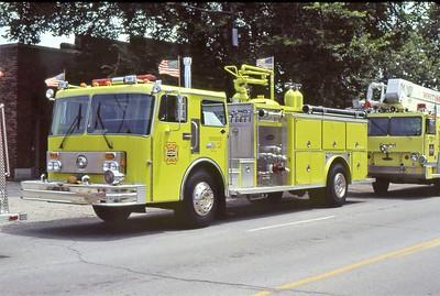 AMOCO WHITING FD   ENGINE 13  1983 SPARTAN - E-ONE   1500