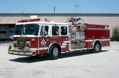 AMOCO REFINERY FD - WHITING IN  ENGINE 515  1995  E-ONE CYCLONE II   2500-0-1000F   #14254    DON FEIPEL PHOTO