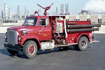 UNION OIL REFINER FD  ENGINE 7612  1969  IHC FLEETSTAR 2010 - NATIONAL FOAM   1250-1000F