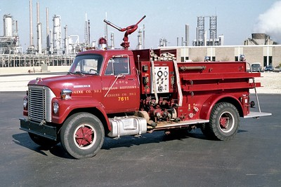 UNION OIL REFINER FD  ENGINE 7611  1969  IHC FLEETSTAR 2010 - NATIONAL FOAM   1250-1000F