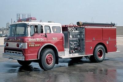 UNION OIL REFINER FD  ENGINE 7613  1984  FORD C - PIERCE   1000-750-125F    E-1844