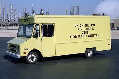 UNION OIL REFINER FD  RESCUE 7616  1978  GMC STEPVAN