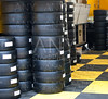 Formula One 1 race tires and wheels