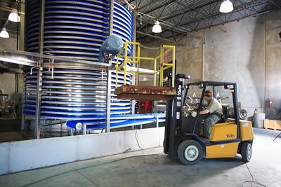 Forklift in Plant