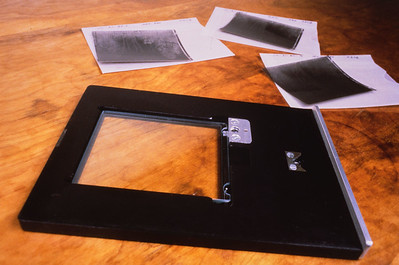 Precision negative carrier and three separation negatives