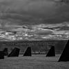 Obelisks, Magnuson Park, Seattle (February, 2014)