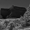 Mission Ruins, Pecos National Park, New Mexico - March, 2014