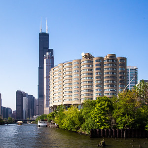 River City Apartments by Bertrand Goldberg