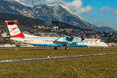 Austrian Airlines Bombardier DHC-8-402Q OE-LGI 12-14-19 2