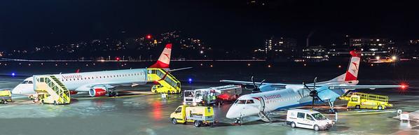 Austrian Airlines Bombardier DHC-8-402Q OE-LGJ 12-13-19 2