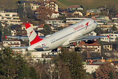 Austrian Airlines Airbus A320-214 OE-LBW 12-14-19 3