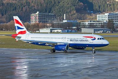 British Airways Airbus A320-232 G-EUYL 12-14-19