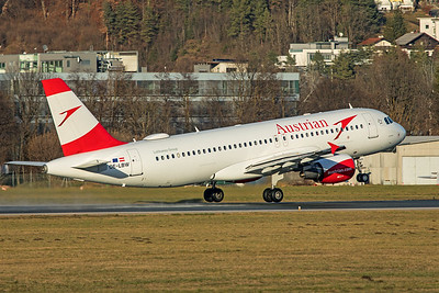 Austrian Airlines Airbus A320-214 OE-LBW 12-14-19 2