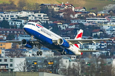 British Airways Airbus A320-232 G-EUUY 12-14-19 2