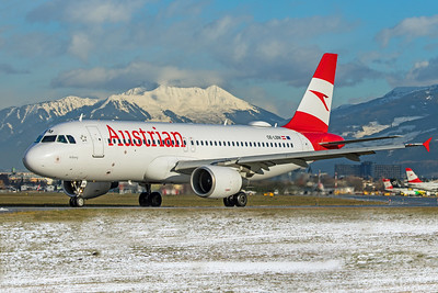 Austrian Airlines Airbus A320-214 OE-LBM 12-14-19 2