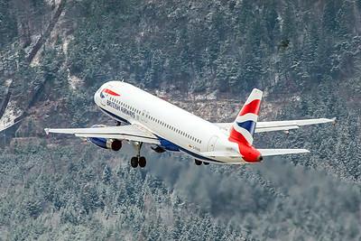British Airways Airbus A320-232 G-EUUS 12-13-19
