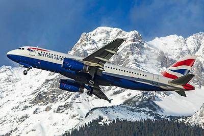British Airways Airbus A320-232 G-EUUY 12-14-19 3