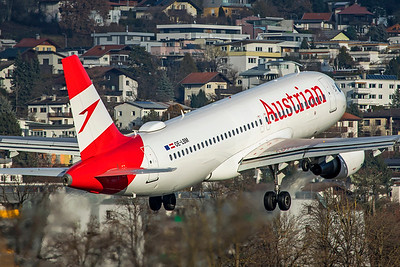 Austrian Airlines Airbus A320-214 OE-LBM 12-14-19 3