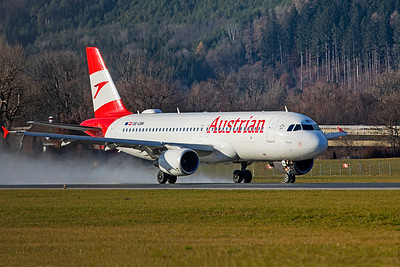 Austrian Airlines Airbus A320-214 OE-LBM 12-14-19 4