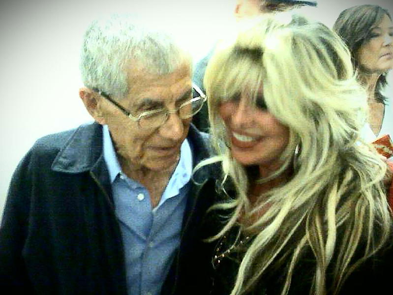 Lou Lenart and me<br /> Founder of the Israeli Air force~<br /> Lou stopped the advancement of the Egyptian Army into Tel Aviv.<br /> A Man of Valor and my dear friend.
