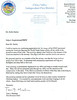 A Letter of Appreciation from a Fire Chief in Chino Valley CA