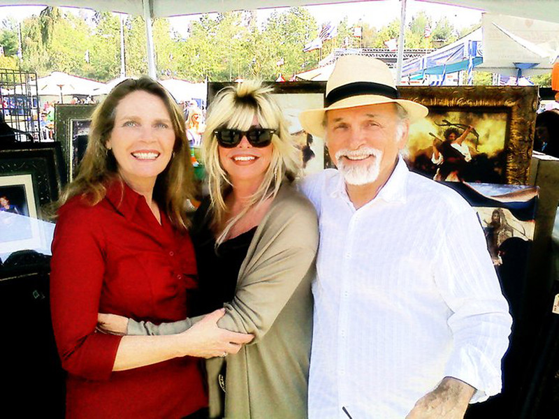 My BFF's, Nancy and Terry Clark at ISRAEL EXPO