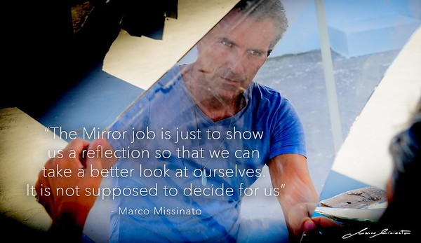 The Outside Mirror Walk the Path with Marco Missinato