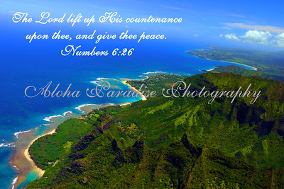 NUMBERS 6:26 KE'E BEACH TO HANALEI BAY