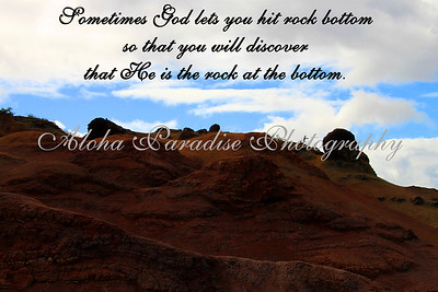 GOD IS THE ROCK, WAIMEA CANYON