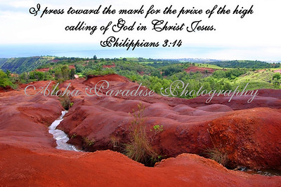 PHILIPPIANS 3:14 , RED DIRT STREAM