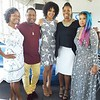 """Xaviera, Que Jackson, Jasmine Crowe and Anje Collins attend Demetria McKinney's 2nd Annual """"Because Of You"""" Pre-Mothers Day Brunch - May 7, 2017"""