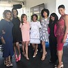 "Carla Stephens, Reece Odum, Xaviera, Monica Elam and Dedra Allen attend Demetria McKinney's 2nd Annual ""Because Of You"" Pre-Mothers Day Brunch - May 7, 2017"