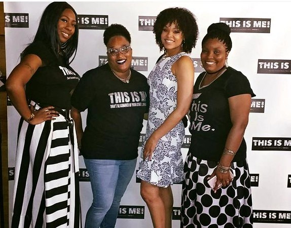 "Kydada Kiki Lewis attend Demetria McKinney's 2nd Annual ""Because Of You"" Pre-Mothers Day Brunch - May 7, 2017"
