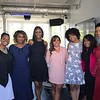 "Carla Stephens, Reece Odum, Monica Elam and Dedra Allen attend Demetria McKinney's 2nd Annual ""Because Of You"" Pre-Mothers Day Brunch - May 7, 2017"