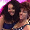 Demetria McKinney and Michelle attend the 2nd annual Autism Benefit Concert - Suite Lounge - April 27, 2016 in Atlanta, GA