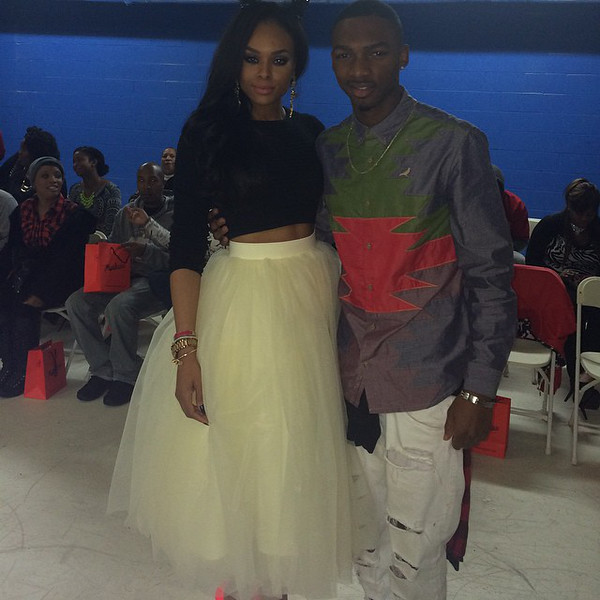 Demetria McKinney and Mishon attend BE Magazine: No Wire Hanger Fashion Show - November 16, 2014