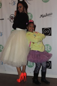 Demetria McKinney attend  attend BE Magazine: No Wire Hanger Fashion Show - November 16, 2014