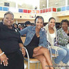 Dr. Evelyn Wynn-Dixon, Vivica A. Fox & Demetria McKinney attends the 'Black Women's Roundtable' on October 22, 2011