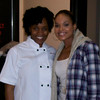 Demetria McKinney and Chef Gwen attends the 'Black Women's Roundtable' on October 22, 2011