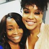 Trishunda Mooney and Demetria McKinney at Clark Atlanta University - Jazz WCLK 91.9 - September 20, 2017
