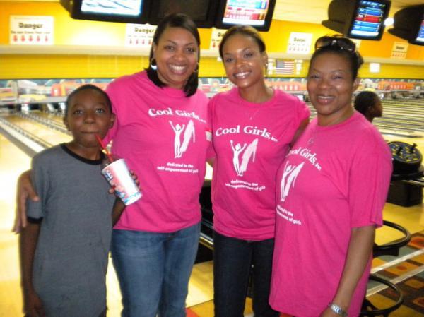 Cool Girls' Bowling Fundraiser - August 29, 2010