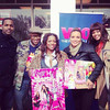 "Satchel, Kandi Burruss, Egypt & Demetria McKinney at ""Egypt's Give Back Tour"" on December 11, 2012"