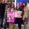 "DJ Fadelf, Satchel J, Kandi Burruss, Egypt & Demetria McKinney at ""Egypt's Give Back Tour"" on December 11, 2012"