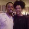Triz and Demetria McKinney attend Heal the Hood's Live the Dream Hip Hopera - Hickory Ridge Middle School - April 7, 2017 in Memphis, TN