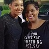 Demetria McKinney and Nikkie M attend Heal the Hood's Live the Dream Hip Hopera - Hickory Ridge Middle School - April 7, 2017 in Memphis, TN