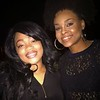 Dani Dae and Demetria McKinney attend Heal the Hood's Live the Dream Hip Hopera - Hickory Ridge Middle School - April 7, 2017 in Memphis, TN